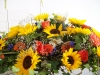 bestattungsinstitut-rose-sonnenblumengesteck