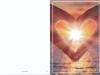 Bestattungsinstitut Rose Trauerdruck, EP Sonnenuntergang mit Herz