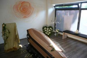 Abschiedsraum Bestattungsinstitut Rose Peißenberg
