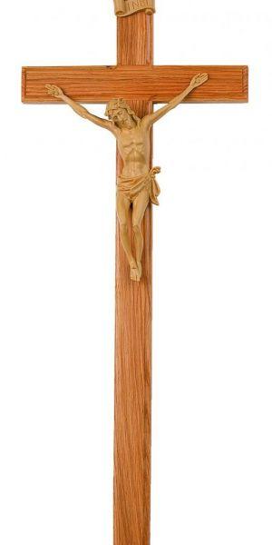"Holzkreuz mit Christusfigur ""hell"""