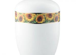 Sonnenblumen - weiß