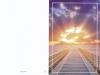 Bestattungsinstitut Rose Trauerdruck, EP Steg mit Sonnenuntergang