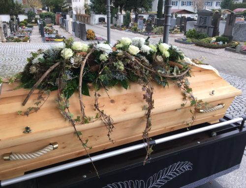 Friedhof verändern